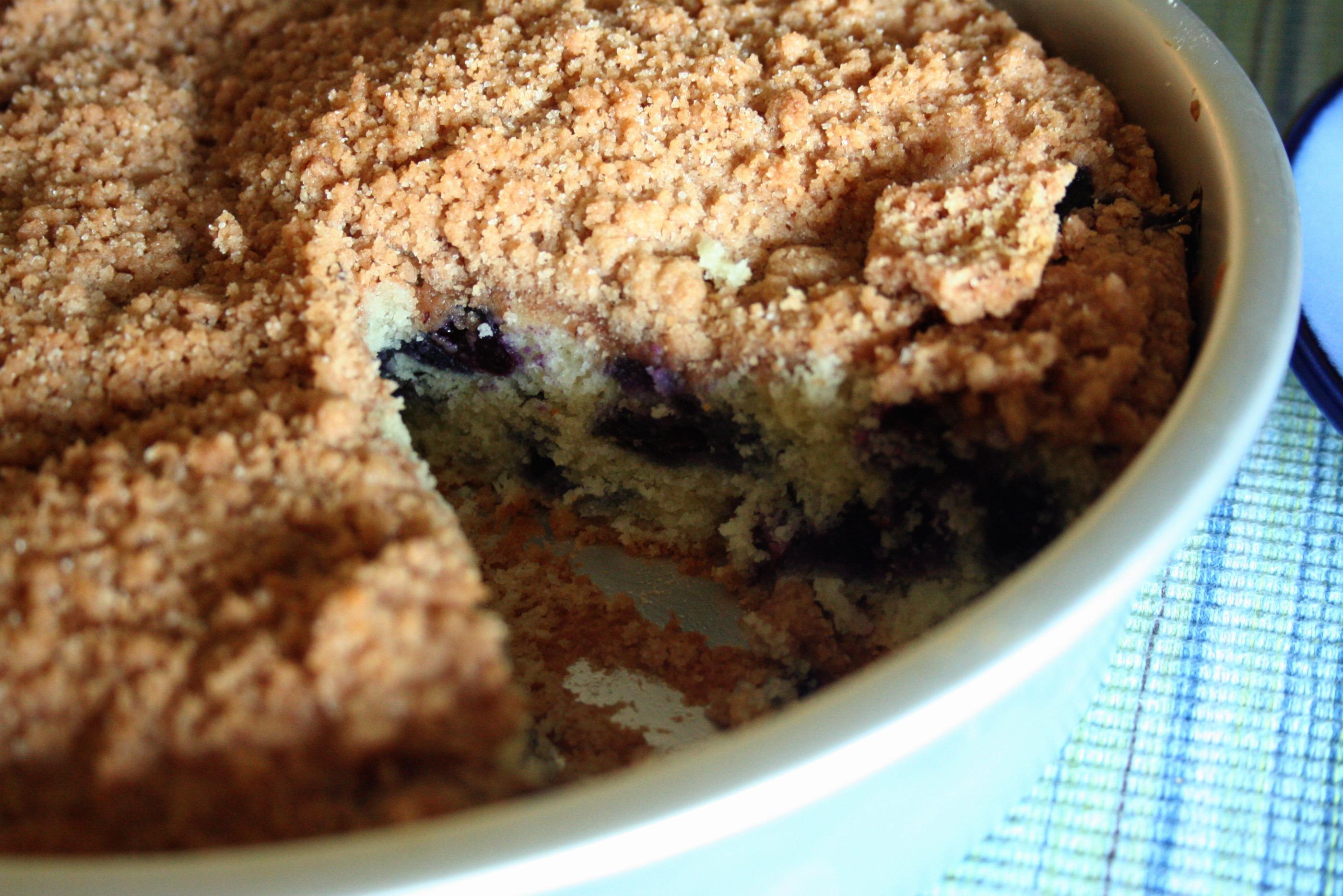 Coffee Cake Recipe King Arthur: Blueberry Buckle Coffee Cake