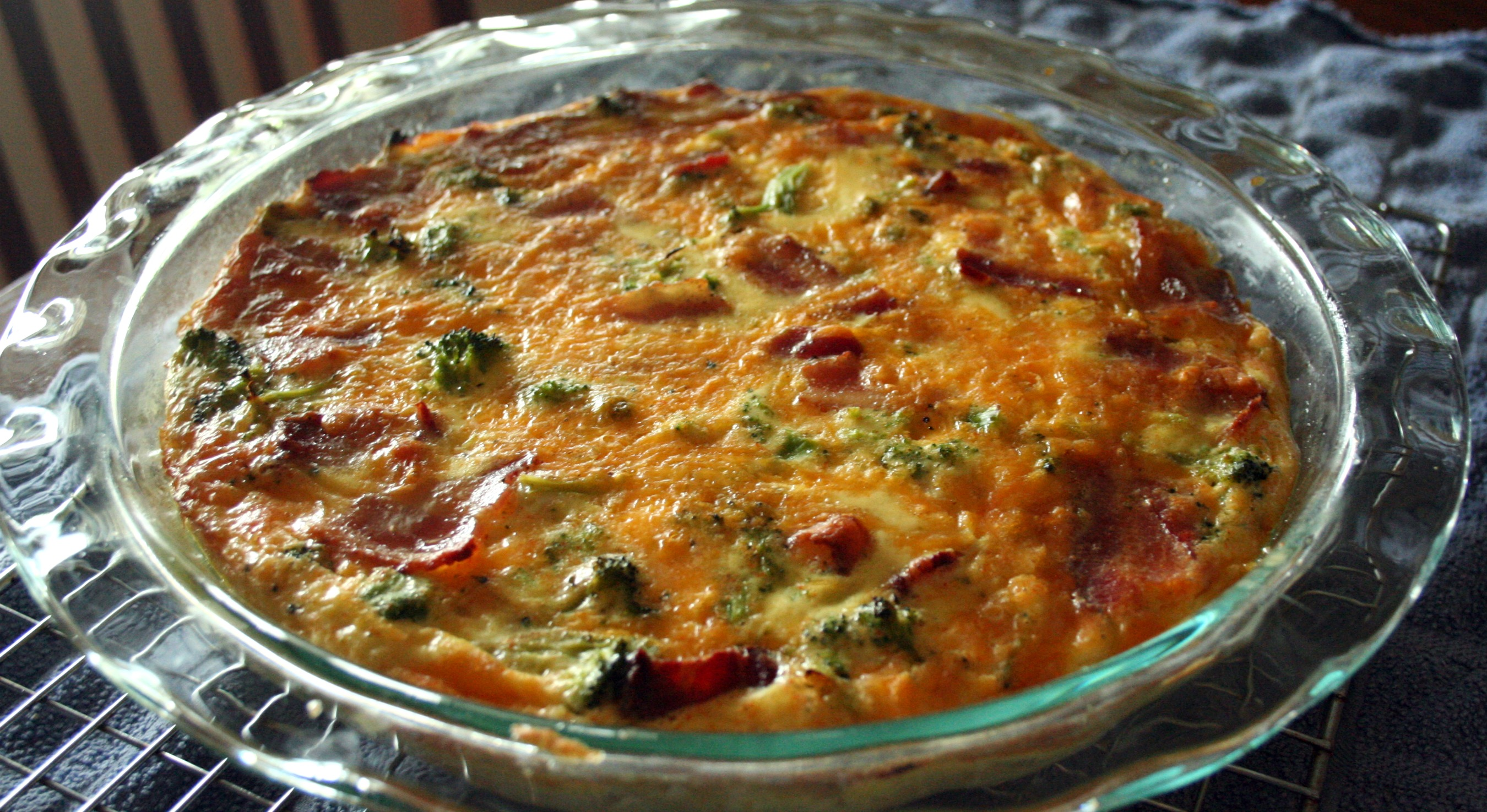 Crustless quiche and garlic bread mom makes crustless quiche master recipe adapted from food network forumfinder Image collections