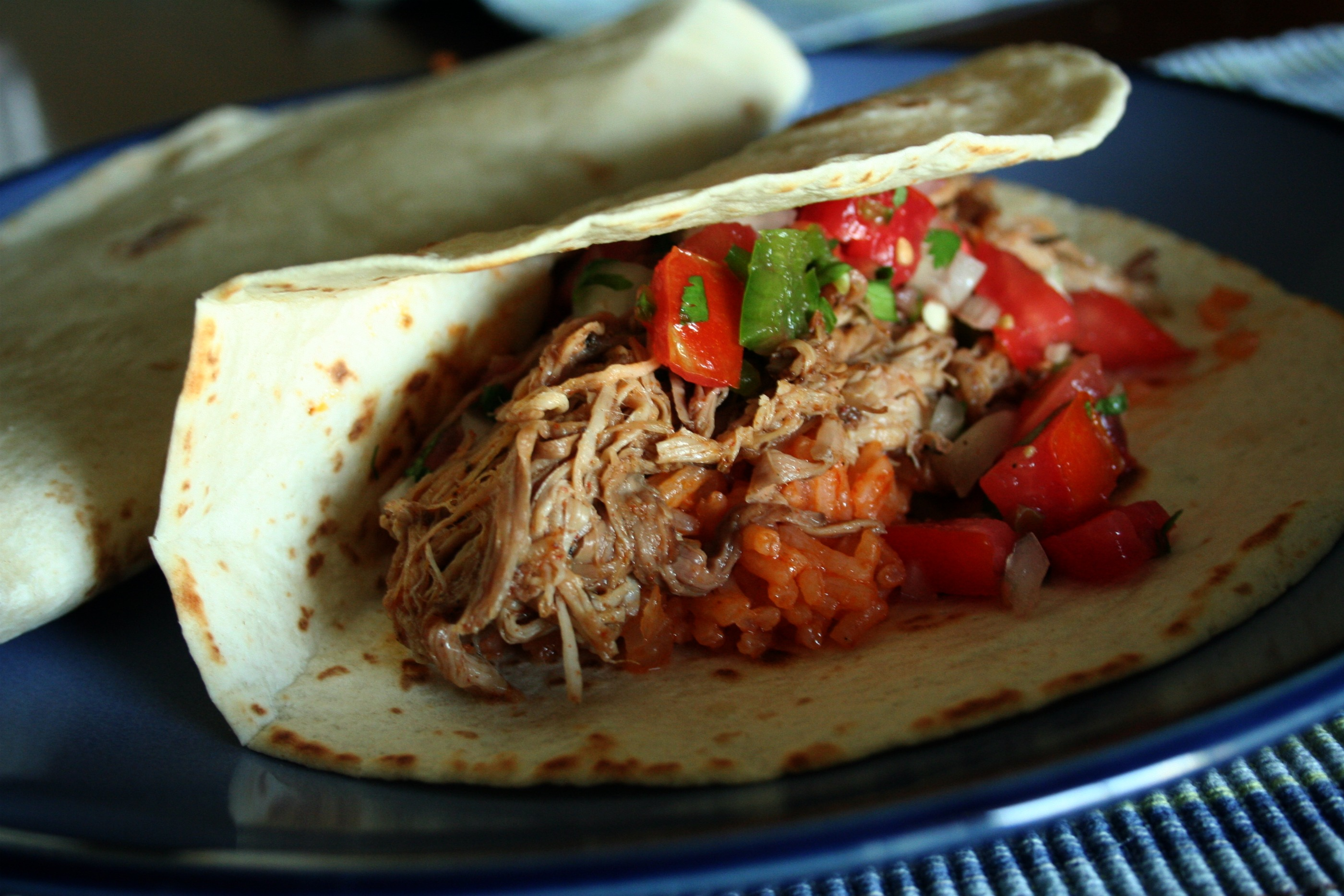 Shredded Pork Tacos | Mom-Makes...