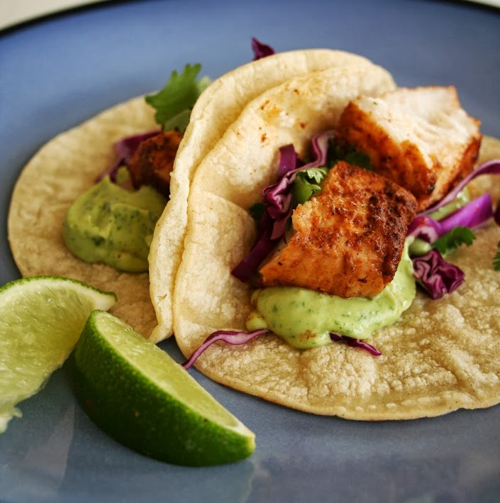 Spicy fish tacos with avocado yogurt sauce mom makes for Spicy fish tacos