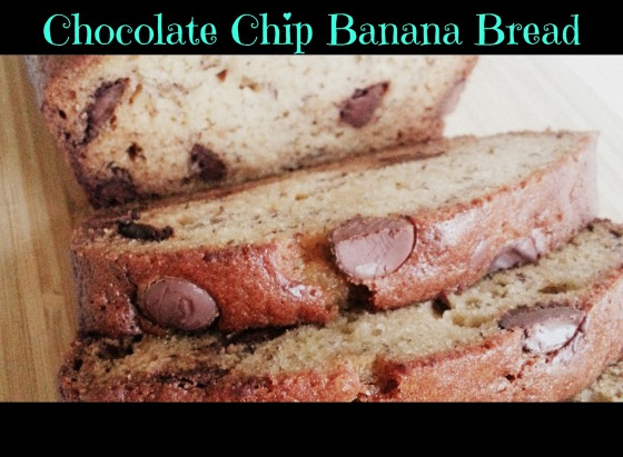 Chocolate Chip Banana Bread | Mom-Makes...